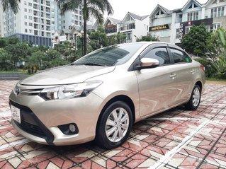 Bán Toyota Vios E AT đời 2018, màu vàng cát
