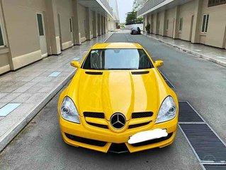 Cần bán gấp Mercedes SLK350 2004, màu vàng, nhập khẩu