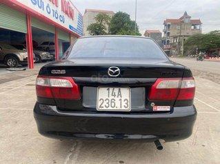 Bán gấp Mazda 626 2.0 MT đời 2001, màu đen
