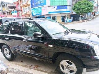 Cần bán Hyundai Santa Fe sản xuất năm 2002, màu đen