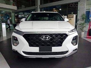Hyundai Santafe 2020 2.4 máy xăng cao cấp, giảm 50% thuế trước bạ, giảm 40tr tiền mặt, quà tặng phụ kiện 15 tr