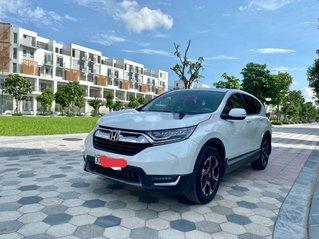 Cần bán gấp Honda CR V đời 2018, màu trắng, xe nhập