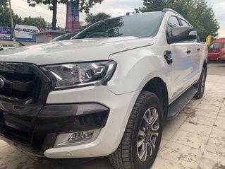 Bán Ford Ranger Wildtrak 3.2 đời 2016, đăng kí 3/2017, màu trắng, nhập khẩu
