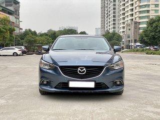 Bán Mazda 6 2.0 AT sản xuất 2015 màu xanh lam cực đẹp