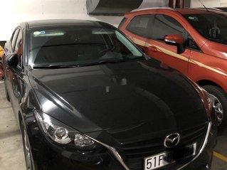 Bán xe Mazda 3 đời 2016, màu đen xe gia đình, 490 triệu