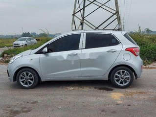 Bán Hyundai Grand i10 sản xuất năm 2015, màu bạc, nhập khẩu nguyên chiếc