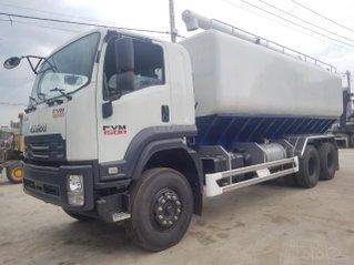 Isuzu 14 tấn thùng chuyên dùng chở thức ăn chăn nuôi, giao ngay, giá tốt, hỗ trợ trả góp