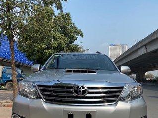 Bán Toyota Fortuner 2016, màu bạc.