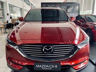 [TPHCM] Mazda CX8 - Giảm ngay 150tr + Gói nâng cấp lên đến 35tr - Trả trước 300tr + Hỗ trợ vay lên đến 80%
