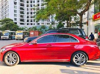 Cần bán Mercedes C class năm sản xuất 2017, màu đỏ còn mới