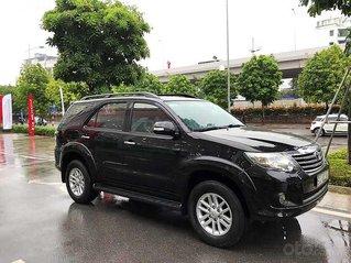Cần bán Toyota Fortuner sản xuất năm 2014, màu đen còn mới
