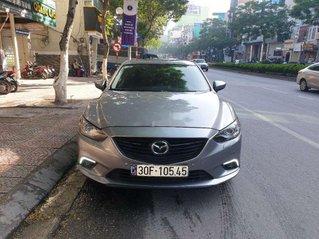Cần bán Mazda 6 năm sản xuất 2015, màu bạc, giá 595tr