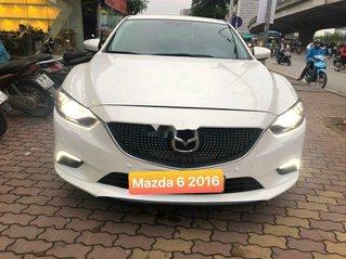 Bán xe Mazda 6 sản xuất năm 2016, màu trắng, giá 645tr
