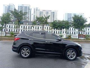 Bán ô tô Hyundai Santa Fe đời 2014, màu đen, xe nhập, giá 752tr