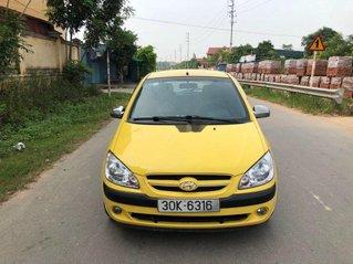 Bán Hyundai Getz sản xuất năm 2008, màu vàng, nhập khẩu xe gia đình, giá tốt
