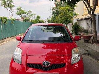 Bán xe Toyota Yaris sản xuất 2011, màu đỏ, nhập khẩu nguyên chiếc