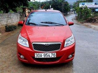 Bán xe Daewoo GentraX đời 2009, màu đỏ, nhập khẩu nguyên chiếc, giá tốt