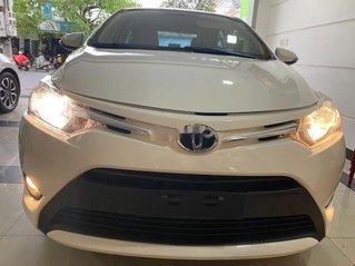Bán Toyota Vios đời 2016, màu trắng, nhập khẩu, số tự động