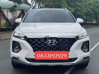 Cần bán gấp Hyundai Santa Fe 2020, màu trắng số tự động