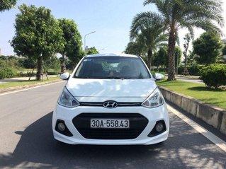 Bán Hyundai Grand i10 sản xuất năm 2015, màu trắng