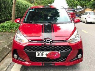 Cần bán xe Hyundai Grand i10 năm sản xuất 2018, màu đỏ, 325tr