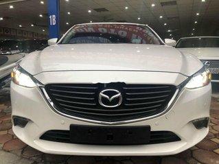 Cần bán lại xe Mazda 6 đời 2019, màu trắng, giá chỉ 795 triệu