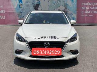 Cần bán lại xe Mazda 3 2018, màu trắng, giá chỉ 589.5 triệu