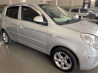 Bán ô tô Kia Morning sản xuất năm 2010, màu bạc, số sàn, giá chỉ 140 triệu