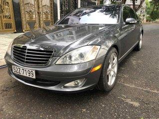 Cần bán gấp Mercedes-Benz S550 đời 2007, màu xám (ghi) xe nhập giá 650 triệu đồng