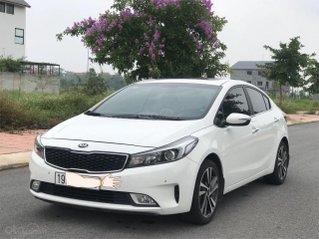 Bán ô tô Kia Cerato sản xuất 2018, màu trắng mới 95% giá 538 triệu đồng