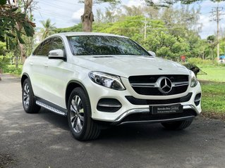 Mercedes-Benz GLE400 Coupe 2020, trắng nội thất nâu, bảo hiểm + phụ kiện đặc biệt