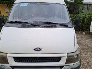 Xe Ford Transit 16 chỗ máy dầu 2 4 xe 4 cửa nội thất vàng chạy 12 0000km 8L /100km xe Việt Nam SX 2005