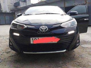 Cần bán lại xe Toyota Vios năm 2018, màu đen còn mới