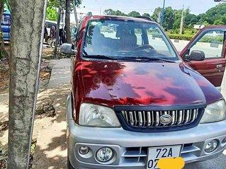 Bán lại xe Daihatsu Terios năm sản xuất 2003, màu đỏ, xe gia đình