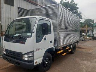 Xe tải Isuzu 1.9 tấn thùng kín inox - khuyến mãi 100% trước bạ