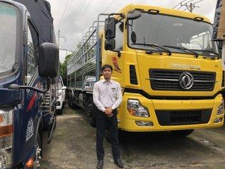 Xe Dongfeng 4 chân 17T99 ISL315 - trả trước từ 350tr nhận xe - thùng 9m5 - hỗ trợ cả nước - vay 72 tháng