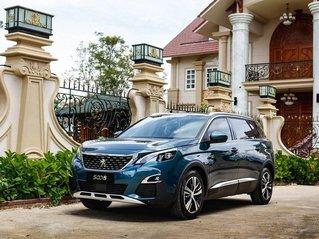 [Peugeot Bình Tân] Ưu đãi đặc biệt Peugeot 5008 AL, màu xanh ngọc bảo, tặng BHVC - giá tốt nhất Sài Gòn giao ngay