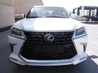 Bán Lexus LX 570 2021 model 2021 Super Sport MBS 4 ghế massage, LH Ms Hương, có trần sao giá tốt, giao ngay toàn quốc