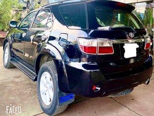 Bán Toyota Fortuner năm sản xuất 2010, màu đen số sàn