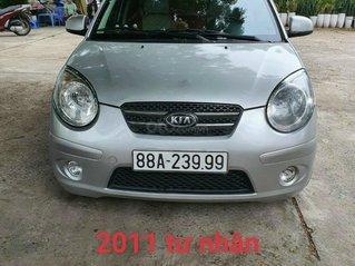 Bán xe Kia Morning đời 2011, màu bạc, số sàn, xe tư nhân không đâm đụng, giá tốt 145 triệu