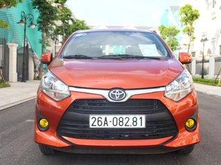 Bán nhanh Toyota Wigo đời 2018, màu cam, máy xăng