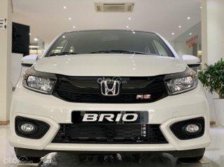 [Honda Bắc Ninh] Honda Brio 2020 xe giá tốt + trả trước 140 triệu nhận xe ngay