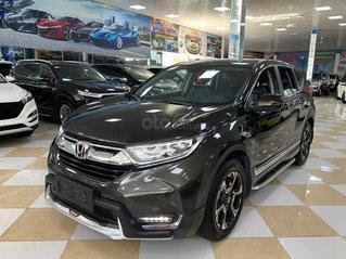 Bán nhanh xe Honda CRV đời 2018, màu đen, 7 chỗ