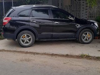 Cần bán Chevrolet Captiva đời 2007, màu đen