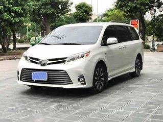 Bán Toyota Sienna Limidted sản xuất 2018, màu trắng, nhập khẩu