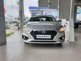 Bán xe Hyundai Accent sản xuất 2020, màu bạc, giao ngay