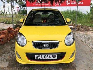 Cần bán lại xe Kia Morning năm sản xuất 2010, màu vàng, 215tr