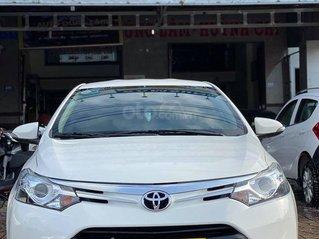 Cần bán gấp với giá ưu đãi nhất chiếc Toyota Vios G 2018 màu trắng xe còn mới