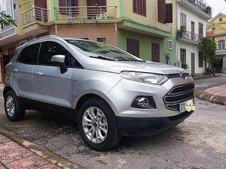 Bán gấp chiếc Ford EcoSport sản xuất 2016, màu bạc, giá ưu đãi