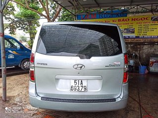 Cần bán xe Hyundai Starex đời 2008, màu bạc, nhập khẩu xe gia đình